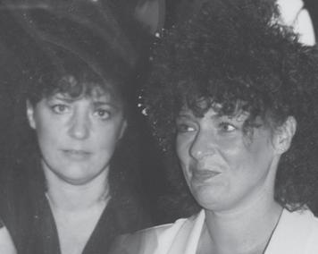 Susan Malcolm and Sarah Baker