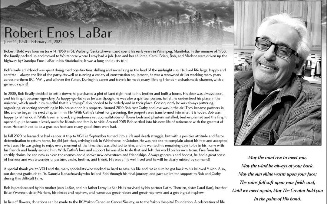 Robert Enos LaBar